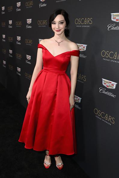 Flounced Dress「Cadillac Celebrates Oscar Week 2019」:写真・画像(4)[壁紙.com]