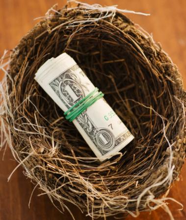 Easter Basket「Money in a bird nest」:スマホ壁紙(1)