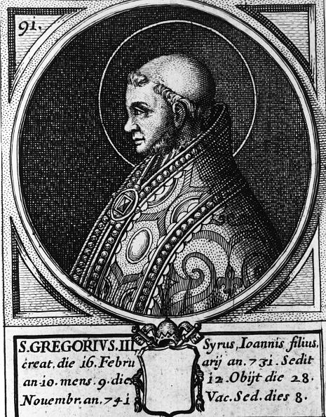 Profile View「Pope Gregory III」:写真・画像(13)[壁紙.com]