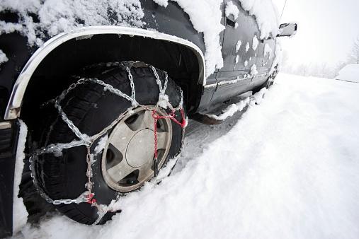 吹雪「タイヤチェーン、どのような車両は、すべてのファッションを着ている」:スマホ壁紙(6)