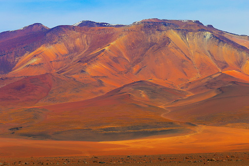 Bolivian Andes「Atacama Desert -  Volcanic pastel colored landscape, Bolivian Andes - Potosi – Bolivia」:スマホ壁紙(6)