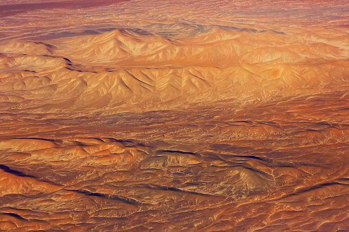 Bolivian Andes「Atacama Desert – Chilean, Argentinean and Bolivian Andes aerial view – above dramatic pastel colored landscapes, exotic volcanoes and Idyllic Atacama Desert, Volcanic landscape panorama –  Chile, Bolivia and Argentina border」:スマホ壁紙(9)