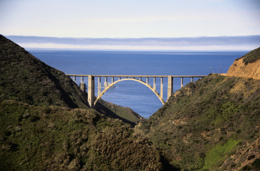 Bixby Creek Bridge「Bridge at Big Sur」:スマホ壁紙(3)