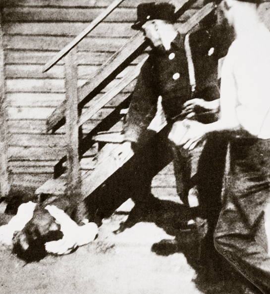 Horror「Two White Men Stoning An African American To Death 1919」:写真・画像(1)[壁紙.com]