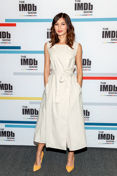 Yellow「Gemma Chan Visits The IMDb Show」:写真・画像(7)[壁紙.com]