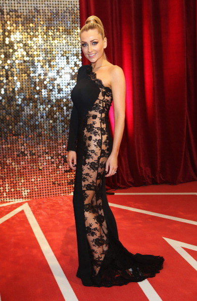 Scalloped - Pattern「The British Soap Awards 2013 - Red Carpet Arrivals」:写真・画像(9)[壁紙.com]