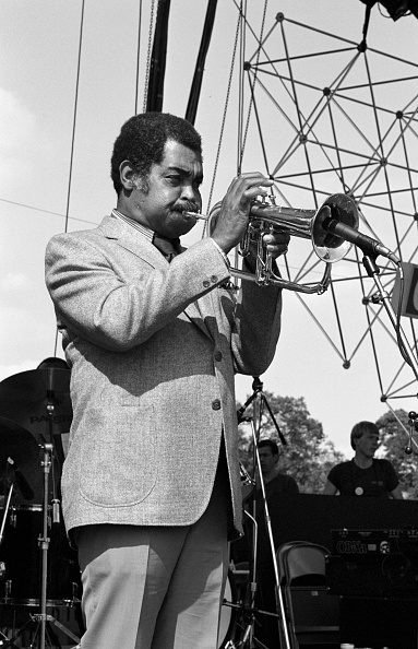 トランペット「Art Farmer, Capital Jazz festival, Knebworth, July, 1982」:写真・画像(12)[壁紙.com]