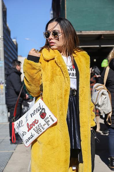 Achim Aaron Harding「Street Style - New York Fashion Week February 2019 - Day 3」:写真・画像(14)[壁紙.com]