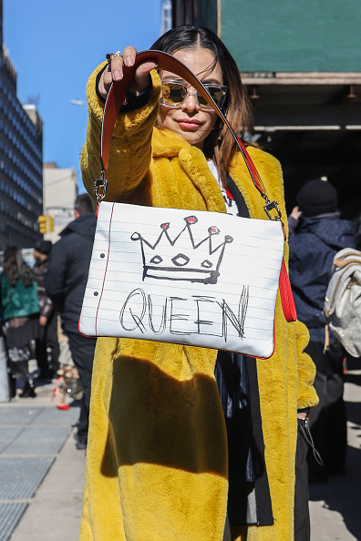 Street Style「Street Style - New York Fashion Week February 2019 - Day 3」:写真・画像(9)[壁紙.com]