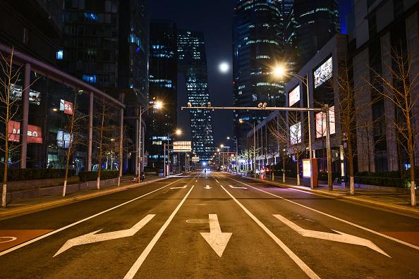 Street「After Sunset Still Quiet On Beijing Streets」:写真・画像(5)[壁紙.com]