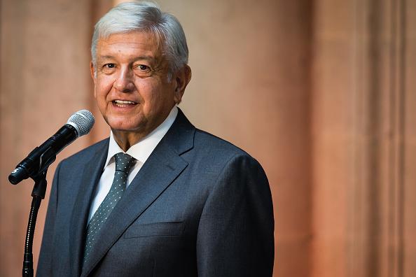 President of Mexico「Press Conference of Andres Manuel Lopez Obrador」:写真・画像(5)[壁紙.com]