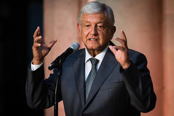 President of Mexico「Press Conference of Andres Manuel Lopez Obrador」:写真・画像(0)[壁紙.com]