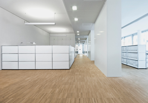 Parquet Floor「Germany, Interior of office reception」:スマホ壁紙(13)