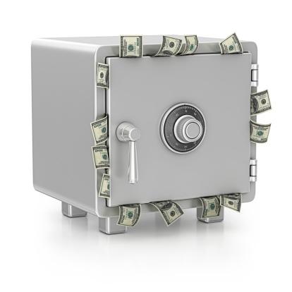 Clip Art「safe and dollars」:スマホ壁紙(8)