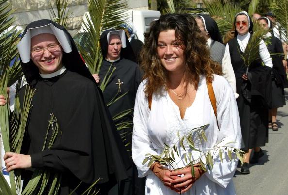 Celebration Event「Christians Celebrate Holy Week In Jerusalem」:写真・画像(12)[壁紙.com]