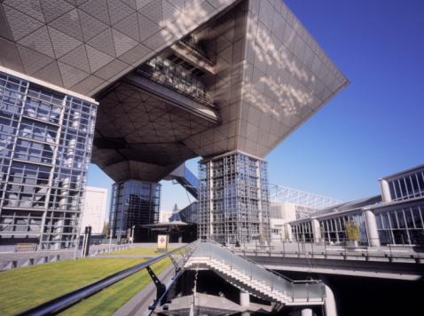 Koto Ward「Tokyo Big Sight building, Tokyo, Japan.」:スマホ壁紙(12)