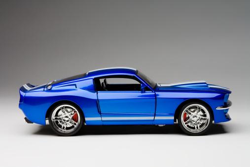 Sports Car「Blue Sport Car」:スマホ壁紙(7)