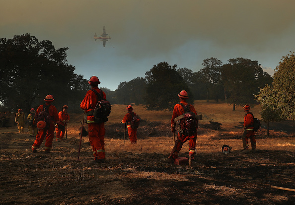 Justin Sullivan「Mendocino-Complex Fire Scorches 70,000 Acres In Northern California」:写真・画像(8)[壁紙.com]