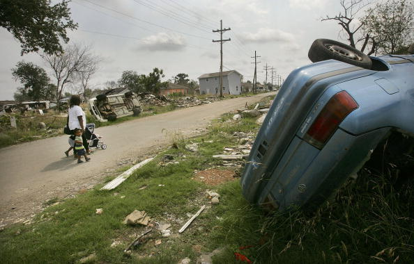 Natural Disaster「New Orleans Family Attempts To Re-Settle In Lower Ninth Ward」:写真・画像(17)[壁紙.com]