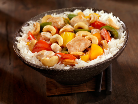 Chicken Meat「Cashew Chicken Stir Fry」:スマホ壁紙(3)