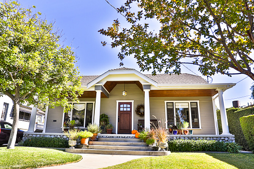 1920-1929「Craftsman Bungalow House」:スマホ壁紙(12)