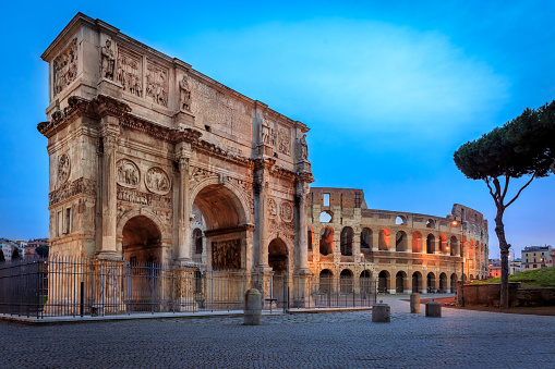 Street Style「Arch of Constantine, Rome italy」:スマホ壁紙(7)
