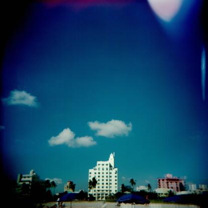Miami Beach「USA, Florida, Miami Beach, oceanfront buildings」:スマホ壁紙(8)
