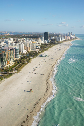 Miami Beach「USA, Florida, Miami, miami Beach, aerial view」:スマホ壁紙(2)