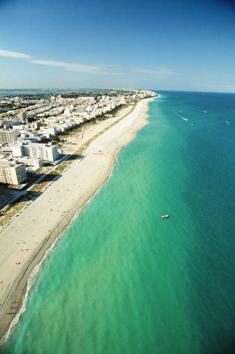 Miami Beach「USA, Florida, Miami, South Beach, aerial view」:スマホ壁紙(11)
