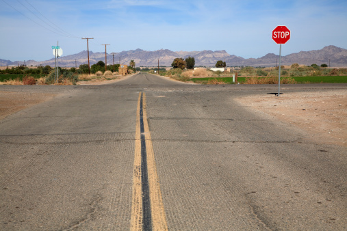 Road Marking「Secondary Roads Crossing Rural America」:スマホ壁紙(9)
