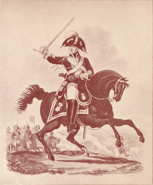 Horseback Riding「'Officer, 2nd Regiment Life Guards (Waterloo Period)', 1812-1815 (1909)」:写真・画像(19)[壁紙.com]