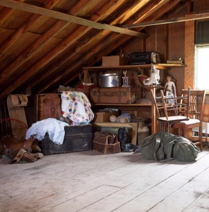 Trunk - Furniture「Junk stored in attic」:スマホ壁紙(18)