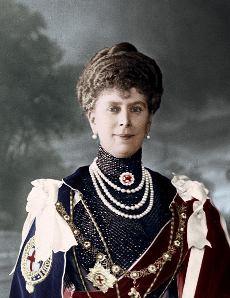 George C「Queen Mary, consort of King George V of the United Kingdom, c1910s(?). Artist: Unknown.」:写真・画像(17)[壁紙.com]