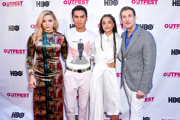 "Forrest Goodluck「2018 Outfest Los Angeles LGBT Film Festival Closing Night Gala Of ""The Miseducation Of Cameron Post"" - Red Carpet」:写真・画像(8)[壁紙.com]"