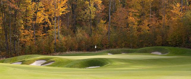 Sand Trap「Fall Golf Panorama」:スマホ壁紙(0)