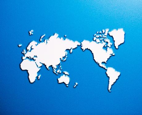 Map of the world「World Map」:スマホ壁紙(9)