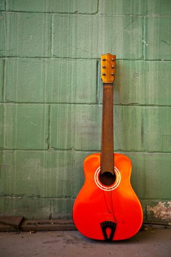 Guitar「Old Guitar. Color Image」:スマホ壁紙(2)