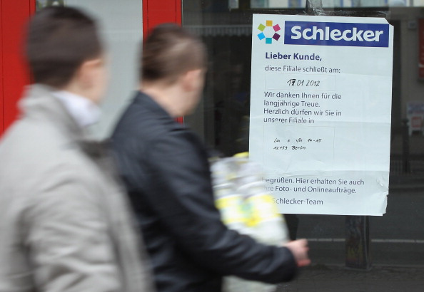 Architectural Feature「Schlecker To Close 3,000 Stores」:写真・画像(1)[壁紙.com]