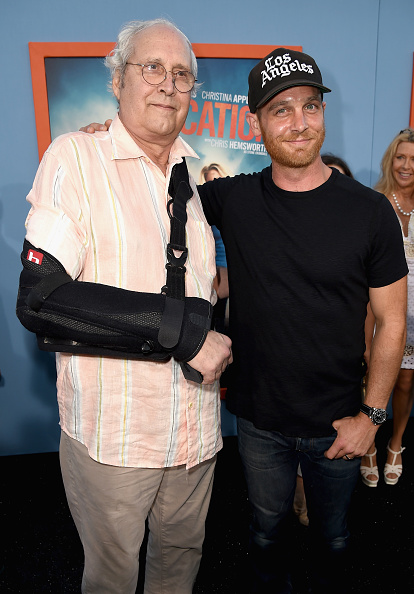 "Three Quarter Length「Premiere Of Warner Bros. Pictures' ""Vacation"" - Red Carpet」:写真・画像(16)[壁紙.com]"