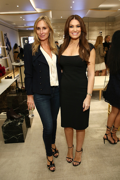 Middle Hair Part「Stuart Weitzman And Quest Invite You To Celebrate The New Look At The Exclusive Re-opening Of The Madison Avenue Flagship Store」:写真・画像(19)[壁紙.com]