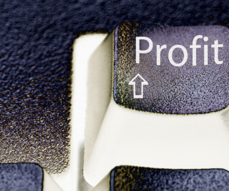 Economic fortune「Profit text」:スマホ壁紙(9)