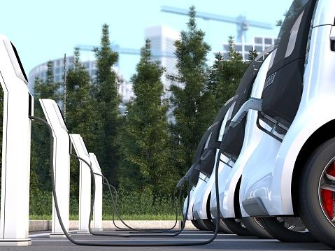 Electric Vehicle Charging Station「Electric Car」:スマホ壁紙(3)
