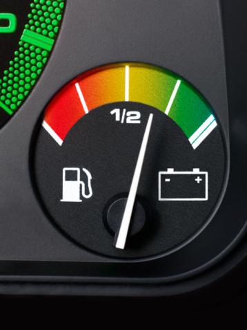 Power Supply「Electric car fuel gauge.」:スマホ壁紙(12)