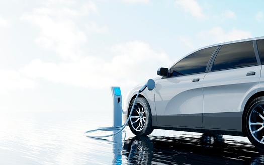 Electricity「Electric Car Charging」:スマホ壁紙(13)