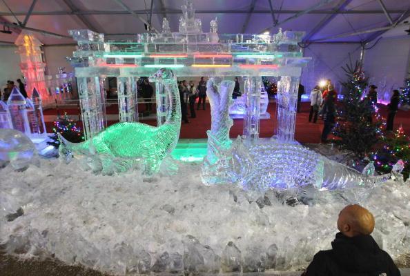 Ice Sculpture「Ice Art - Exhibition Opening」:写真・画像(15)[壁紙.com]