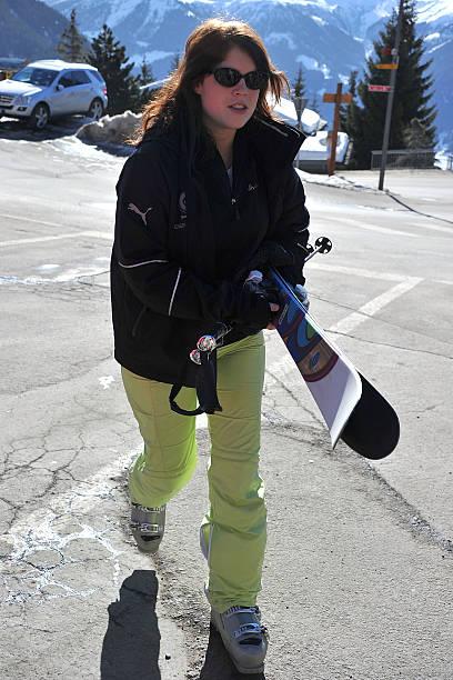 Prince Andrew and Sarah Ferguson Skiing in Verbier:ニュース(壁紙.com)