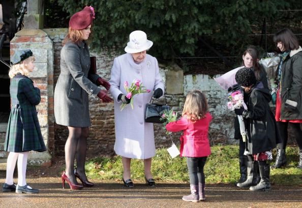 King's Lynn「British Royals Attend Christmas Day Service At Sandringham」:写真・画像(13)[壁紙.com]