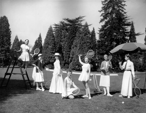 歴史「Tennis Costumes」:写真・画像(10)[壁紙.com]