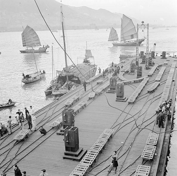 1950-1959「Hong Kong Harbour」:写真・画像(7)[壁紙.com]