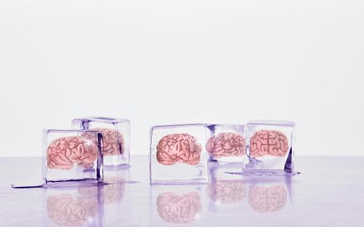 Frozen「Brains frozen in ice cubes」:スマホ壁紙(2)